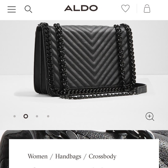 cea3e862ccb Aldo Handbags - Last Chance! Aldo greenwald black quilted bag